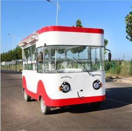 厂家供应新款电动四轮小吃车 电动餐车 早餐车能做各种小吃