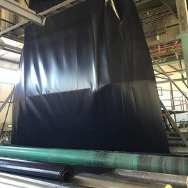 水渠防渗用HDPE土工膜 黑色防水塑料膜