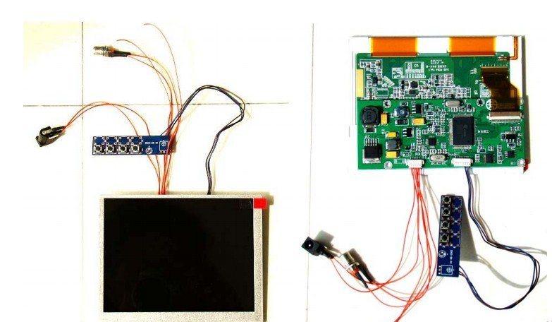 5.6寸液晶顯示器視頻AV