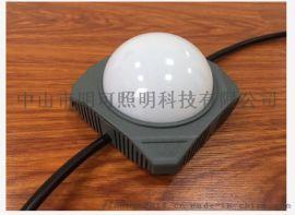 广东明可诺DMX512RGBW点光源楼宇亮化