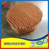 CY700型銅絲網波紋填料銅質絲網規整填料