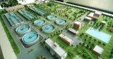 污水处理厂沙盘模型泵房整体模型