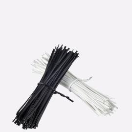 供应环保PVC铁芯扎带镀锌铁丝扎线