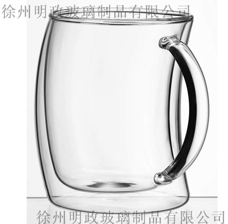 玻璃水杯玻璃茶杯生产厂家, 双层玻璃杯咖啡杯厂家