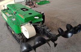 履带式旋耕松土机 多功能开沟施肥培土机