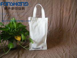 彩色创意帆布手提袋 彩印帆布礼品袋环保袋