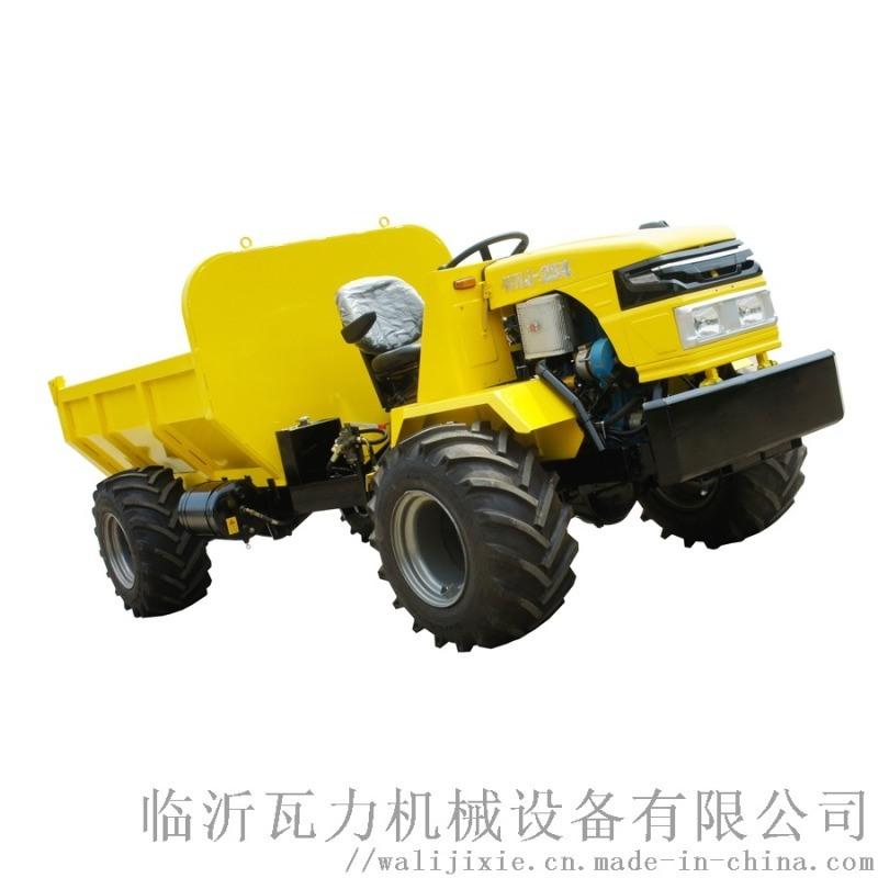 瓦力机械 WNJ-254 四驱铰接式运输拖拉机