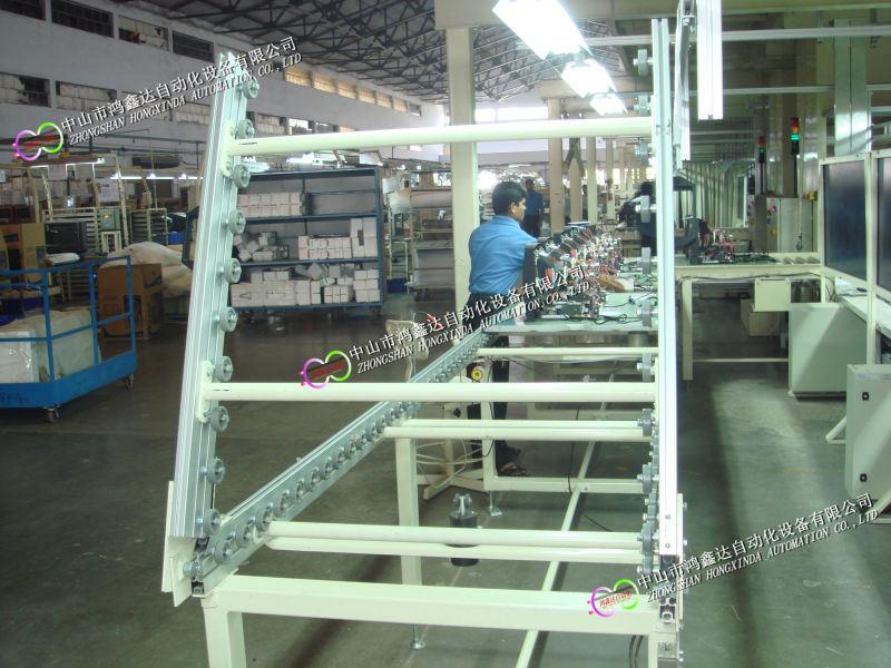 佛山测量仪器生产线,工业仪表装配线,记录仪检测线