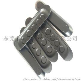 PU聚氨酯发泡坐垫 PU模塑扶手包胶成型东莞厂家