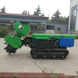 果园开沟施肥机一体机,田园管理机