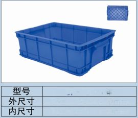 成都塑料周轉箱零件盒加厚物流箱廠家