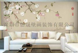 佰晟8D大型壁画,8D无缝墙画,家居背景墙,立体背景墙