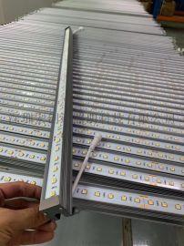 工程款全彩防水5050硬灯条 单色幻彩跑马流星灯条