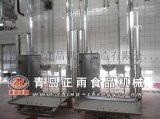 青岛正雨供应牛屠宰设备单双柱升降台