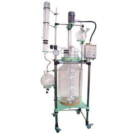 天津100L双层玻璃反应釜的价格