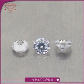 今宝珍天然半宝石锆石裸石厂家直销圆形1.0mm适合首饰镶嵌可定制
