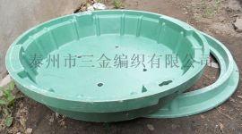 上海ZCP-Q加强型复合下沉井盖,摔不裂的花草种植盆