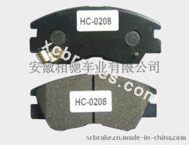 半金属刹车片HC-0208