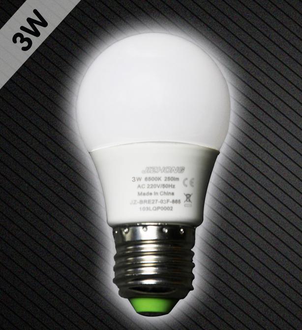 大角度LED球泡灯3W