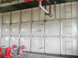 玻璃钢镀锌消防水箱 隐蔽式水箱不锈钢储水箱