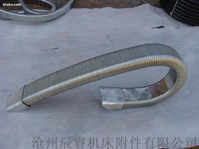 安装方便JR-2型矩形金属软管 嵘实金属软管