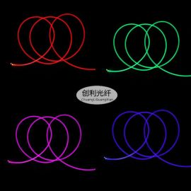 超亮4mm通體側面發光塑料光纖導光條整條發光光纖線舞臺臺階光纖