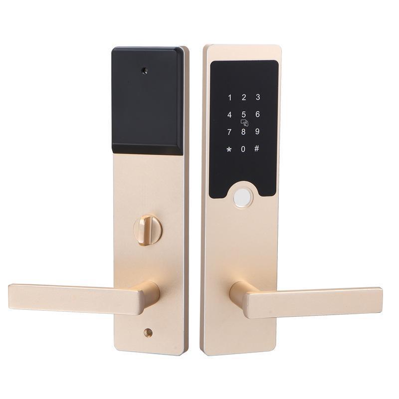 智能家用密码锁把手防盗密码锁半导体防盗锁智能远程手机密码锁