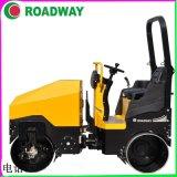 ROADWAYRWYL52C小型駕駛式手扶式壓路機廠家供應液壓光輪振動壓路機直銷濰坊市