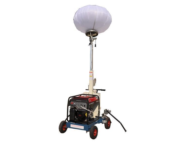 移動照明車 供應路得威RWZM31移動照明燈塔手推式照明車 防眩目照明車