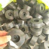 防震橡胶缓冲垫 橡胶减震缓冲垫块 圆形橡胶防撞块