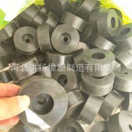 防震橡膠缓冲垫 橡膠减震缓冲垫块 圆形橡膠防撞塊