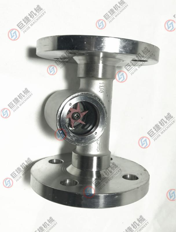 不鏽鋼法蘭視鏡-葉輪油用視鏡 觀察器 顯示器