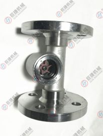 不锈钢法兰视镜-叶轮油用视镜 观察器 显示器