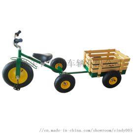 儿童户外三轮车手推车玩具车