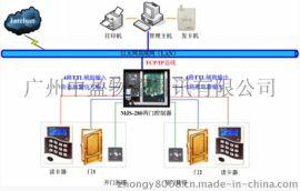 湖南張家界雙門IC刷卡門禁系統門禁控制器安裝