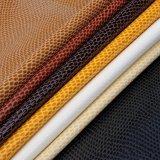 蛇纹pu皮革面料 软包皮革人造包装材料