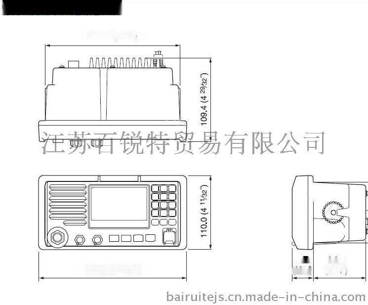 FT-805 A级甚高频(DSC)无线电装置 ClassA 级 带CCS证书 配天线