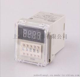 厂家批发供应数显时间继电器 DH48S系列循环延时时间继电器 续科电器品质保证