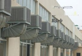 夏季电子厂岗位降温系统或降温方法