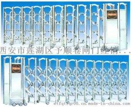 供应企业小区不锈钢伸缩门,不锈钢采用国际标准不锈钢原材料工厂直销