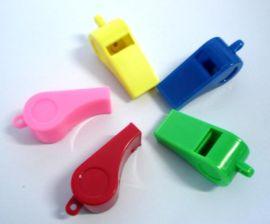 生产塑料儿童口哨,裁判哨,体育哨子。