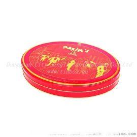 圆形食品马口铁罐,方形食品铁罐包装厂家设计加工