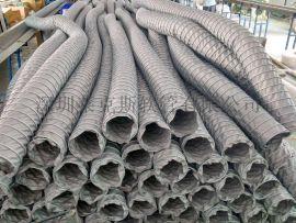 供应耐高温风管 耐高温软管 大口径耐高温伸缩风管