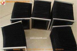 开封供应防水防油防腐蚀风琴防护罩/伸缩式导轨防护罩新品