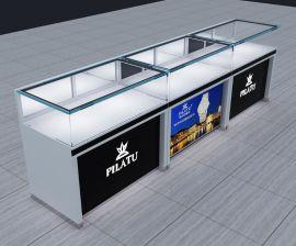 深圳品诚加工手表展示柜 木质烤漆钟表展柜设计定制
