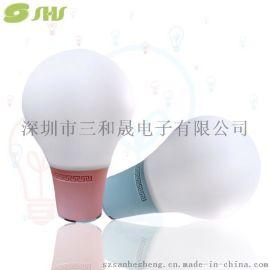 厂家供应新智能情感音响灯蓝牙音箱灯泡台灯