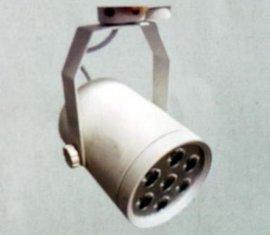 济南LED照明灯轨道灯节能灯铝材黑色白色大功率单头双头