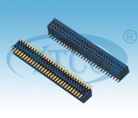 2.54mm间距排母单排双排连接器
