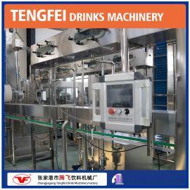 厂家直销三合一果汁饮料生产线 PET热灌装机饮料生产设备现货供应