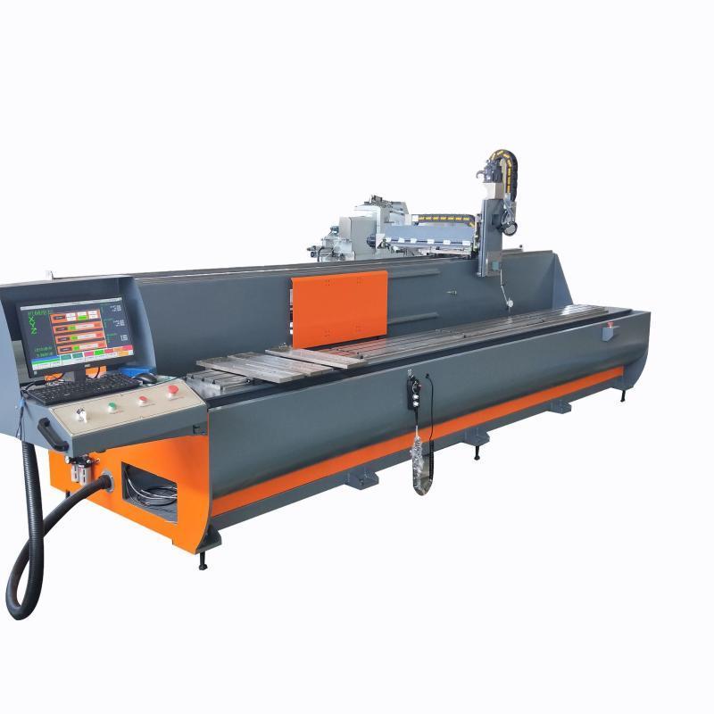 铝型材三轴数控加工中心 防撞梁数控加工设备